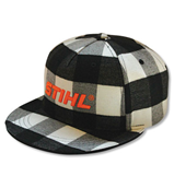 Flannel Flat-Bill Cap